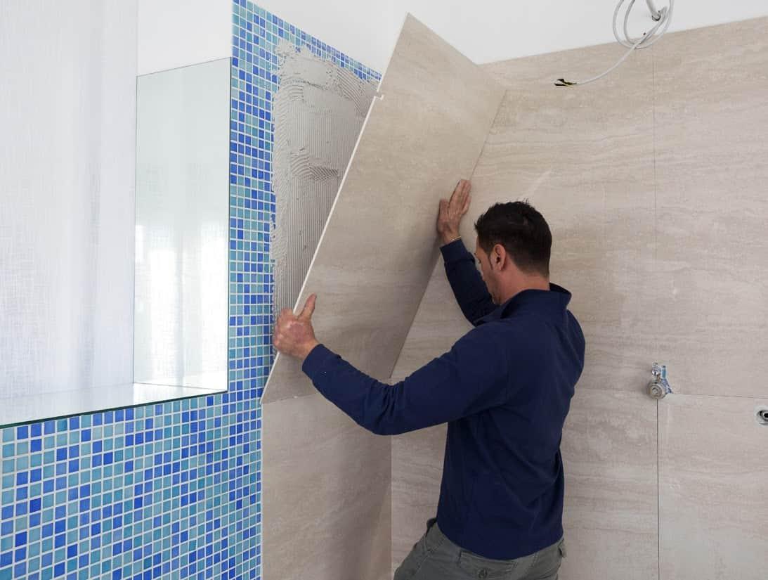 Fasi di lavorazione della trasformazione da vasca a doccia nova srl - Trasformare vasca da bagno in doccia ...